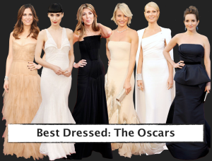 Best Dressed: The Oscars (Photo via Getty)